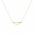 Isos gold necklace