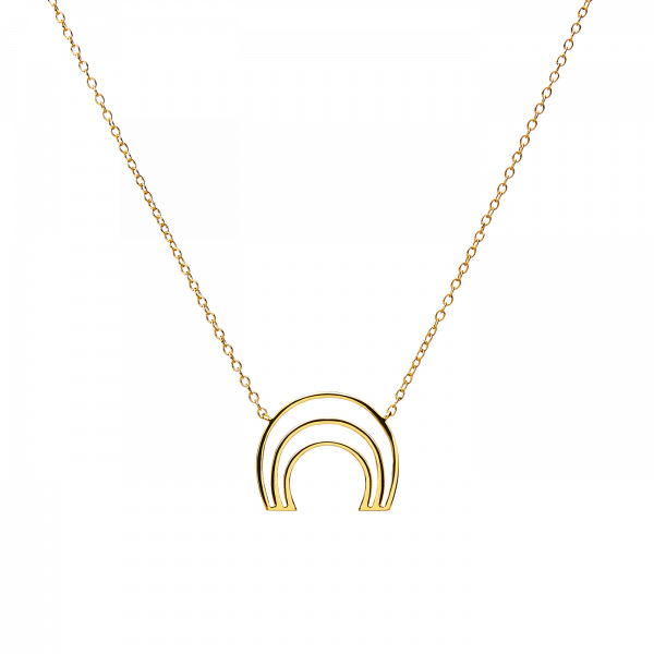 Murona gold necklace